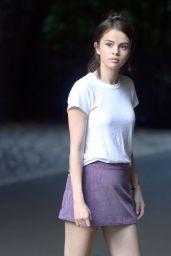 Selena Gomez - Woody Allen Film Set in NYC 09/26/2017