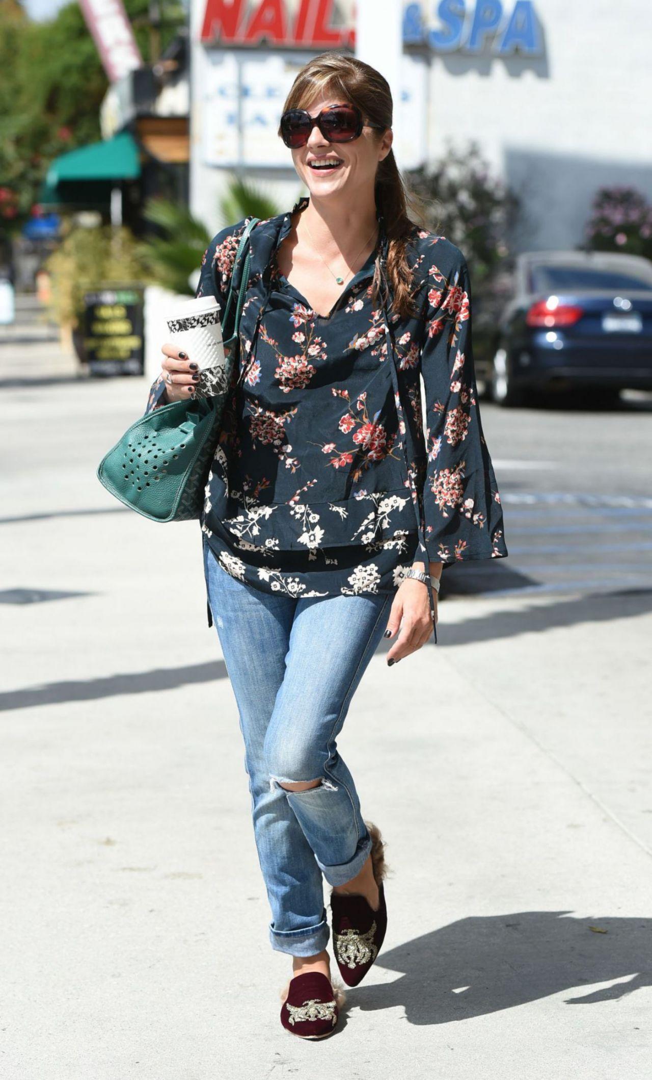 Selma Blair Street Style - LA 09/23/2017