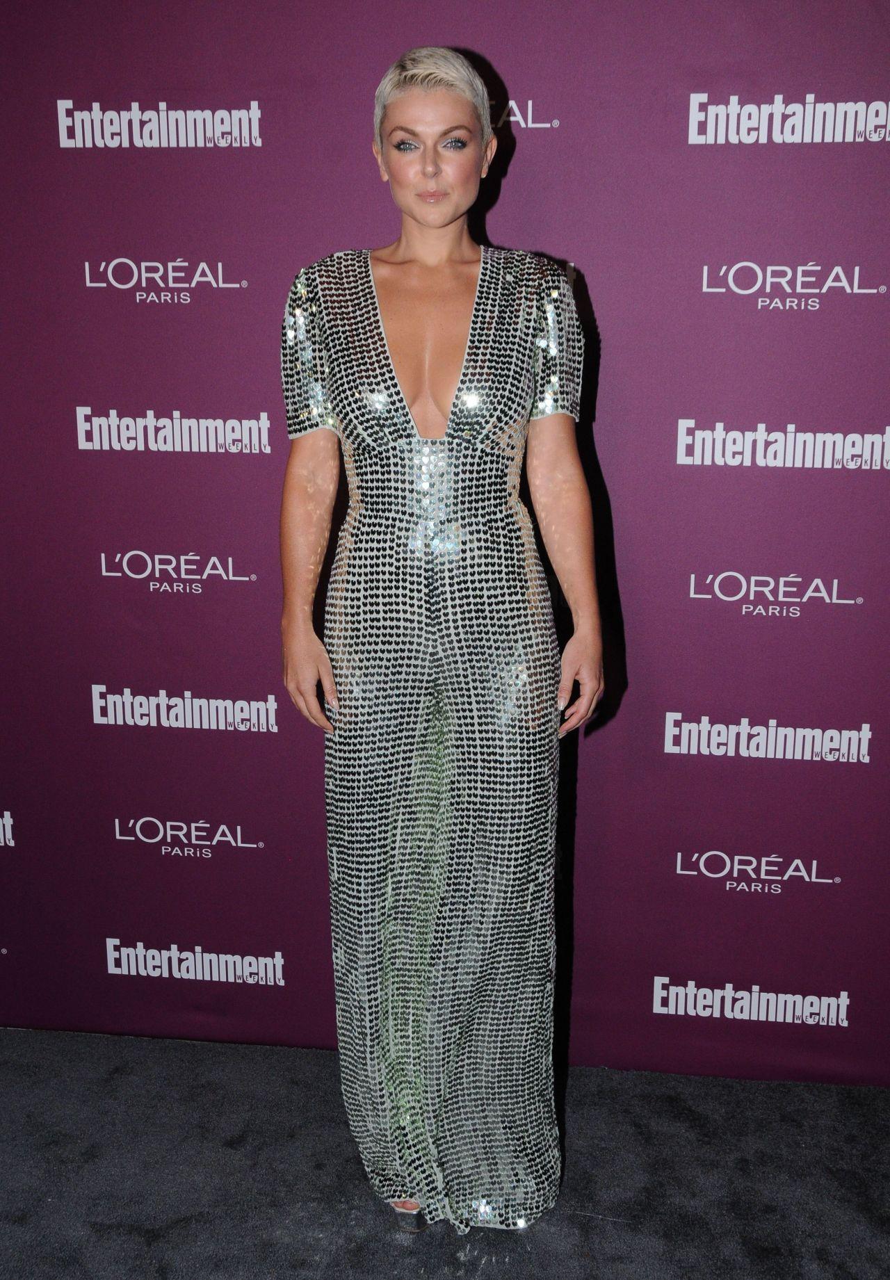 Serinda Swan – EW Pre-Emmy Party in Los Angeles 09/15/2017