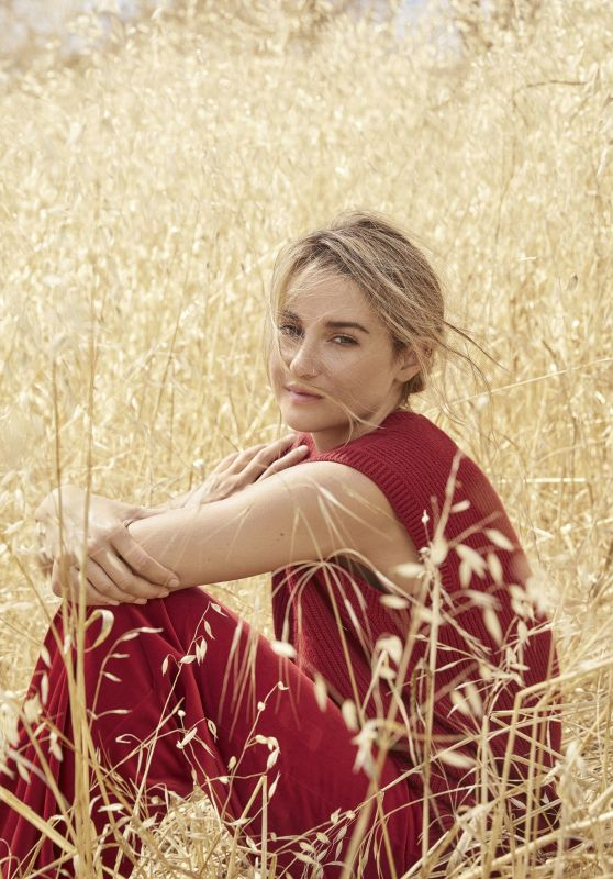 Shailene Woodley - Marie Claire UK October 2017 Issue