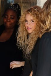 Shakira Casual Style - Leaving Office Building in Barcelona 09/27/2017