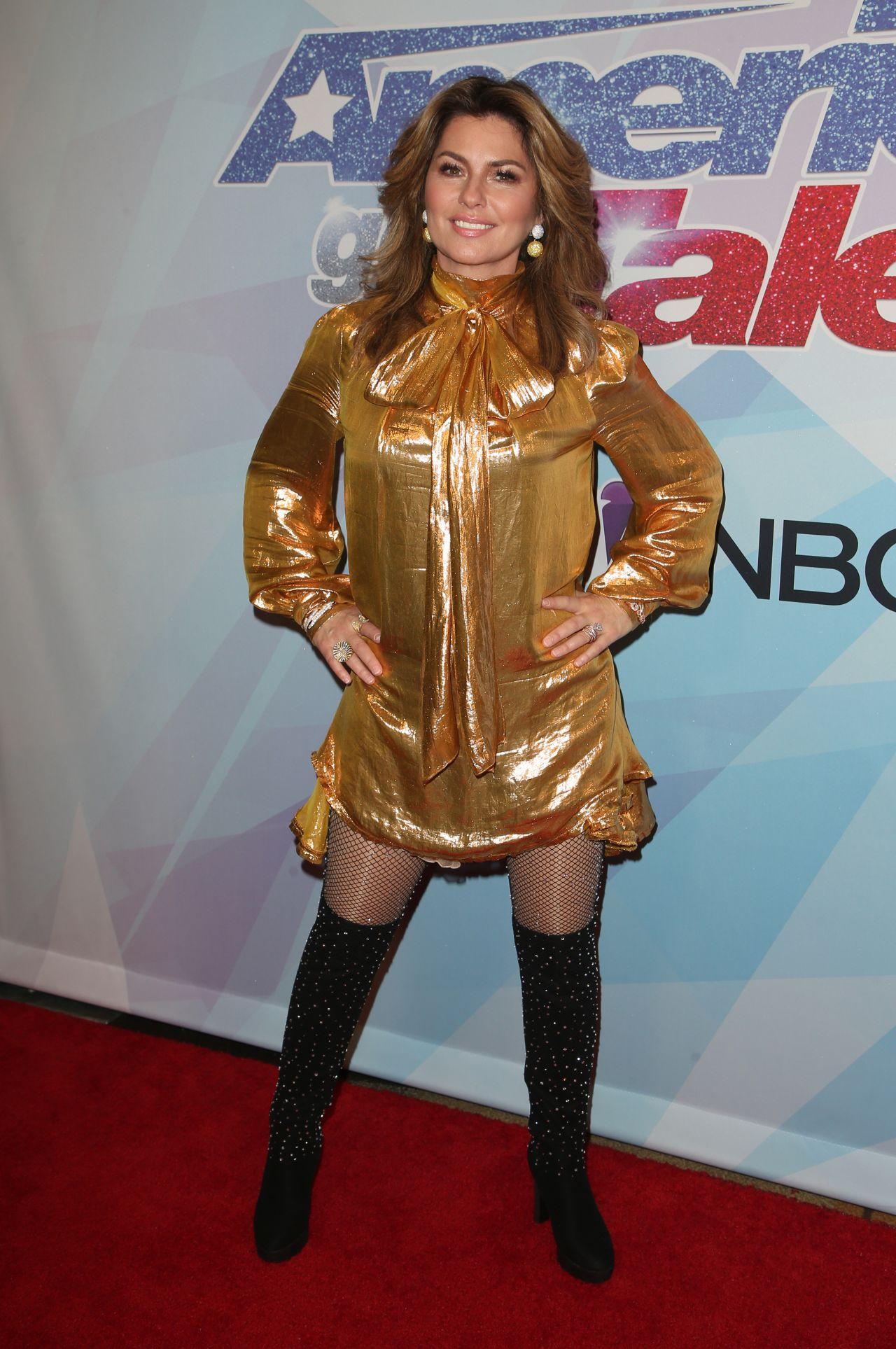 Shania Twain America S Got Talent Live Show In La 09 20 2017