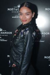 Shanina Shaik – Moet & Chandon Launch Celebration in New York 09/10/2017