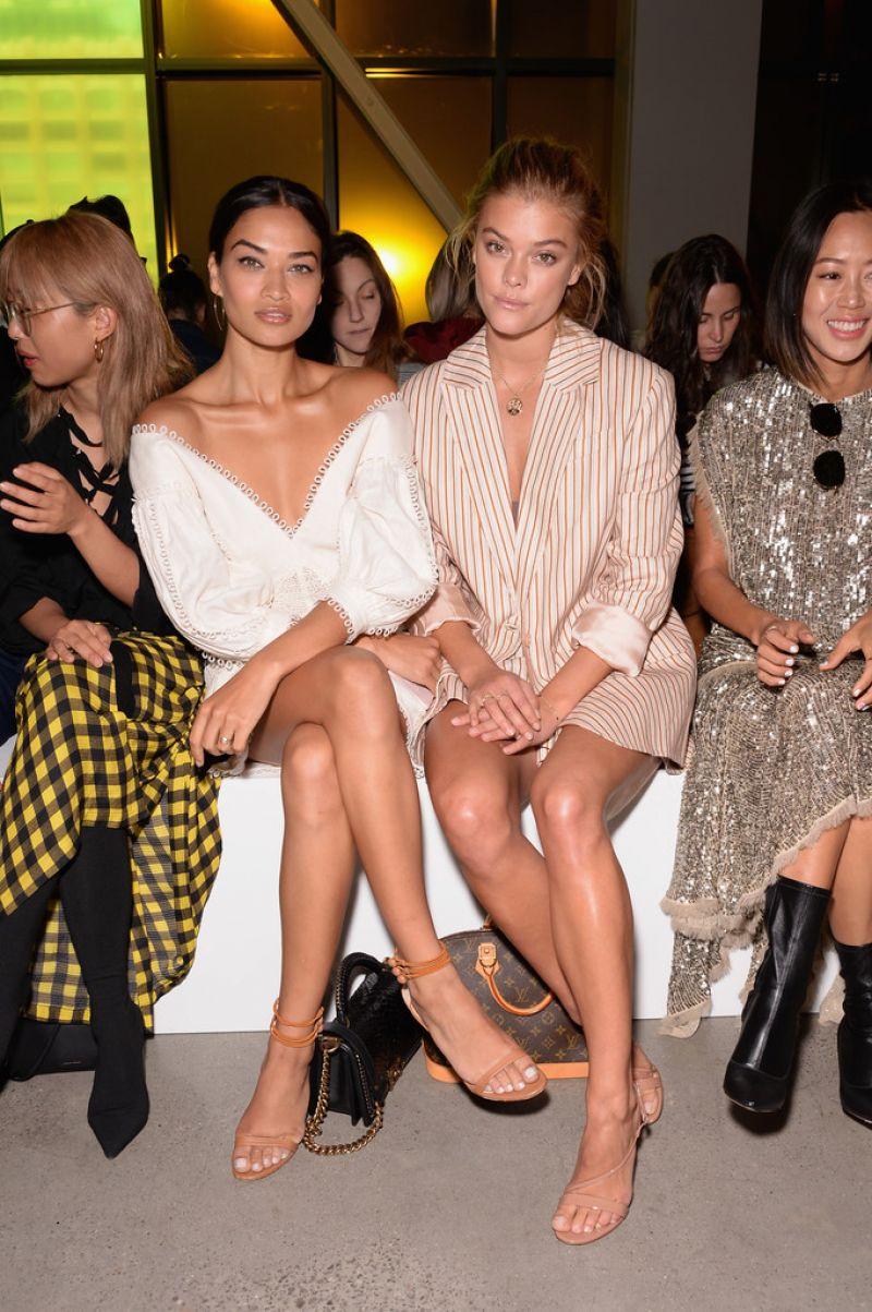 Shanina Shaik - Zimmermann Fashion Show in New York 09/11/2017