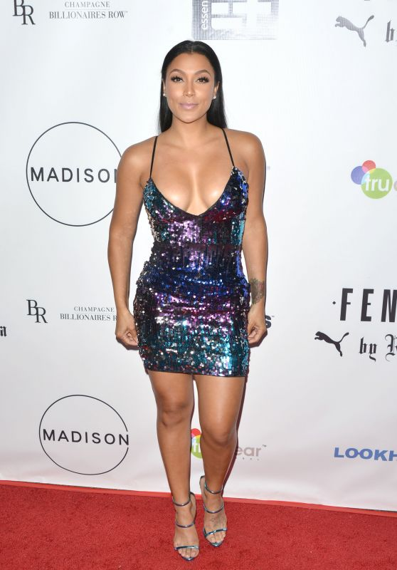 Shantel Jackson – Fenty Puma Launch Party in Beverly Hills 09/27/2017