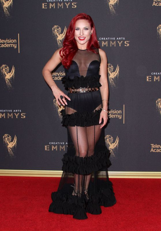 Sharna Burgess – Creative Arts Emmy Awards in Los Angeles 09/09/2017