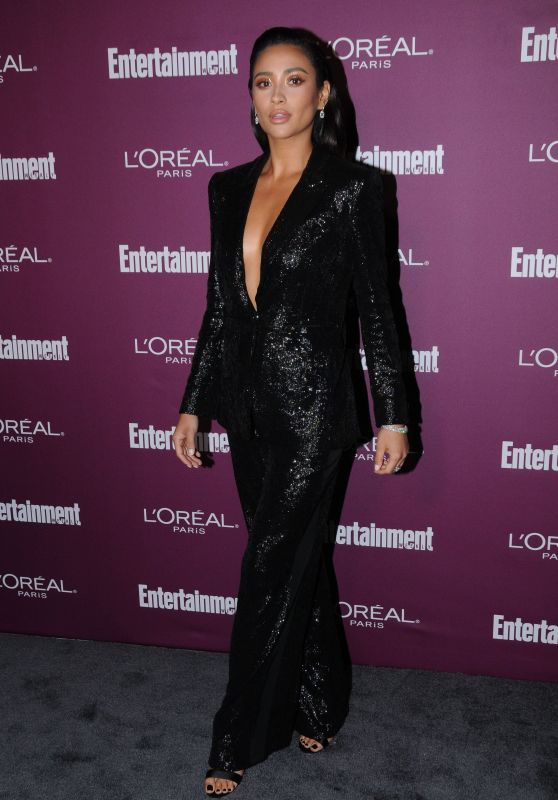 Shay Mitchell – EW Pre-Emmy Party in Los Angeles 09/15/2017