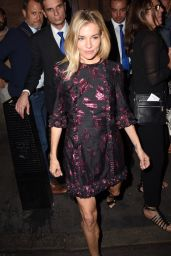 Sienna Miller - Leaving Apollo Theatre in London 08/31/2017