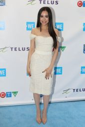 """Sofia Carson – """"We Day"""" Charity Event in Toronto 09/28/2017"""