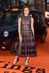 "Sophie Cookson – ""Kingsman: The Golden Circle"" Premiere in London, UK 09/18/2017"