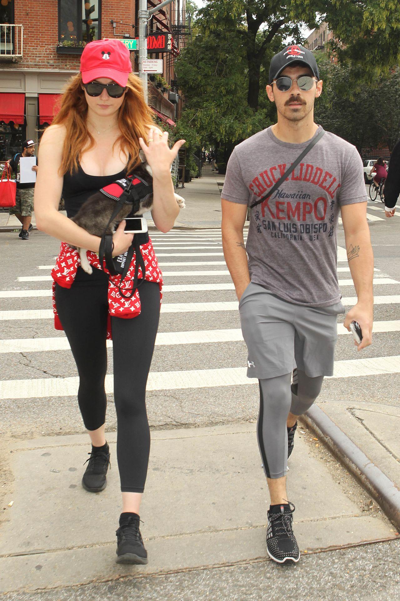 38b60a385cba ... StyleBistro  Rachel Bilson Little Black Dress - Rachel Bilson Looks ...  Sophie Turner and Joe Jonas - NYC 09 07 2017 ...