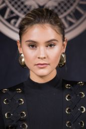 Stefanie Giesinger – L'Oreal X Balmain Party in Paris 09/28/2017