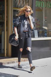 Stella Maxwell - Out in New York 09/01/2017