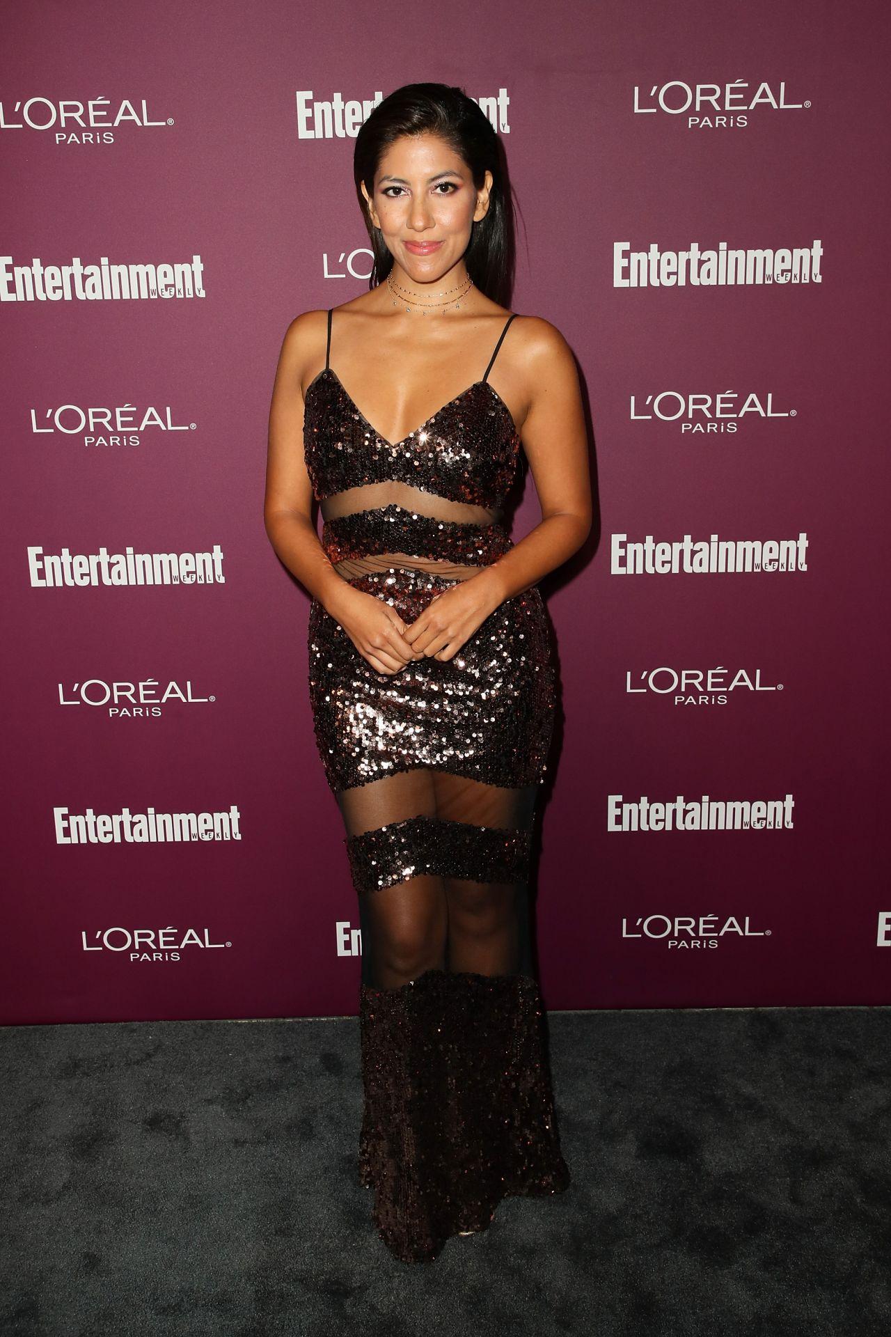Stephanie Beatriz – EW Pre-Emmy Party in West Hollywood 09/15/2017