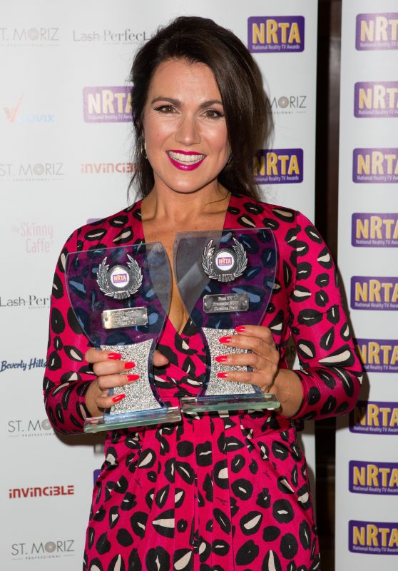 Susanna Reid - National Reality Television Awards in London 09/18/2017