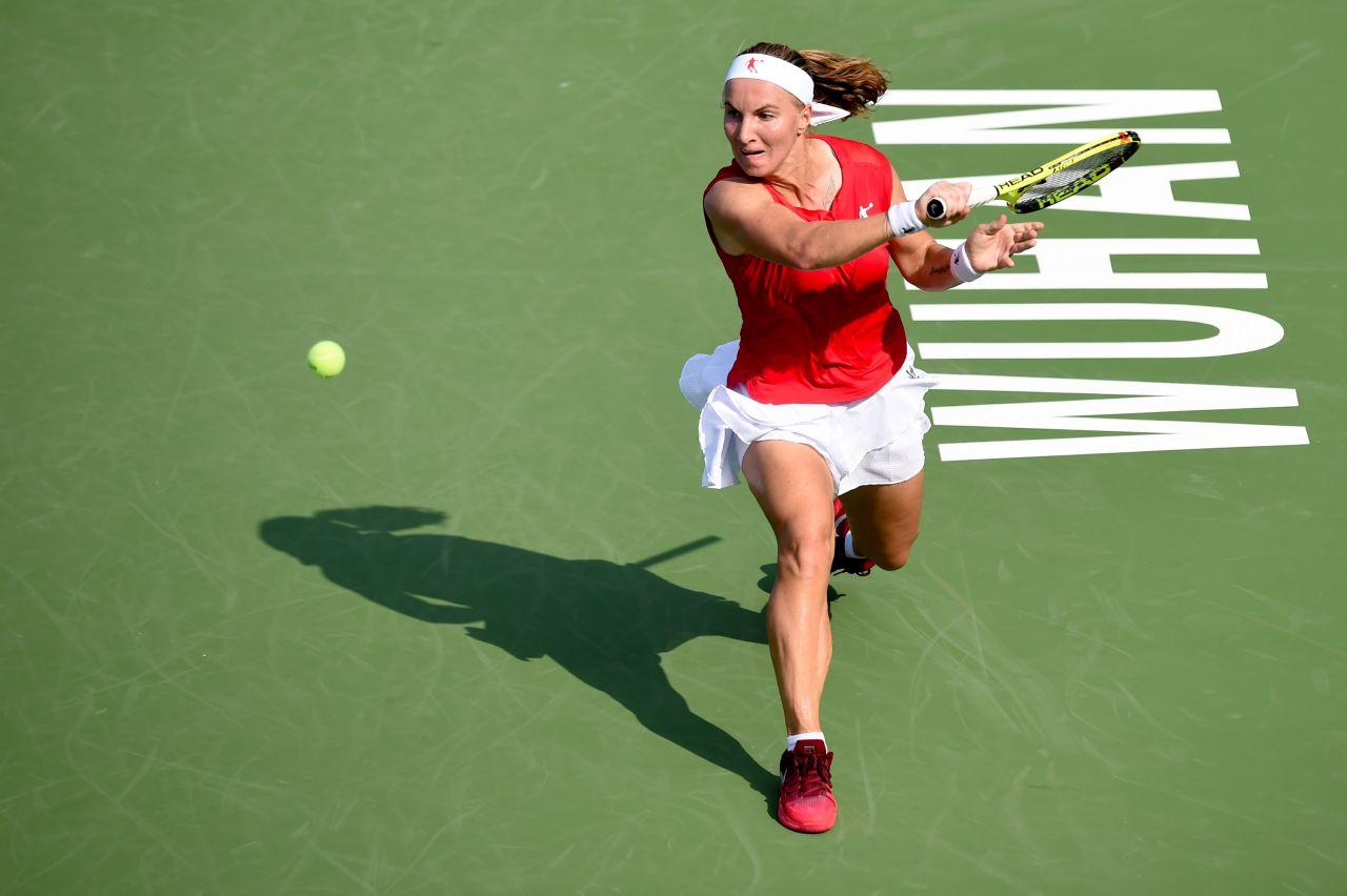 Kuznetsova – WTA Wuhan Open in Wuhan 09 26 2017