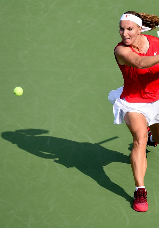 Svetlana Kuznetsova – WTA Wuhan Open in Wuhan 09/26/2017