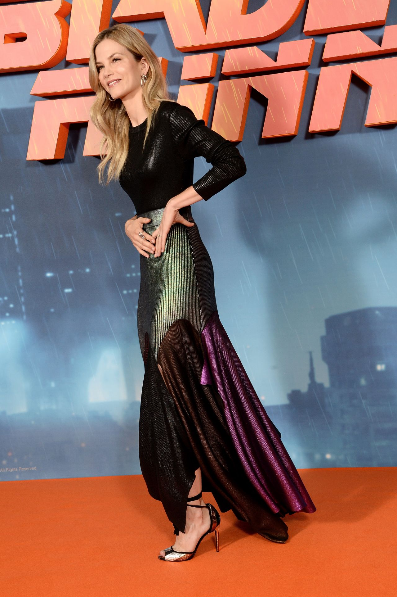 Sylvia Hoeks Blade Runner 2049 Photocall In London 09