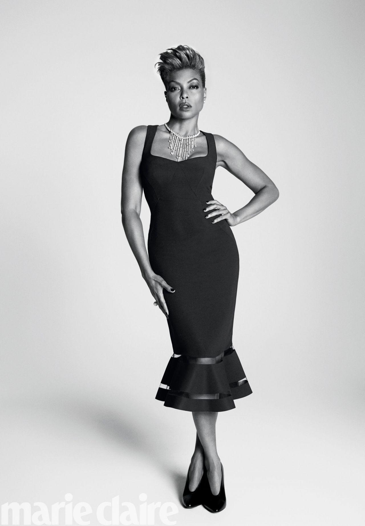 Taraji P. Henson - Marie Claire Magazine US October 2017 Cover and Photos