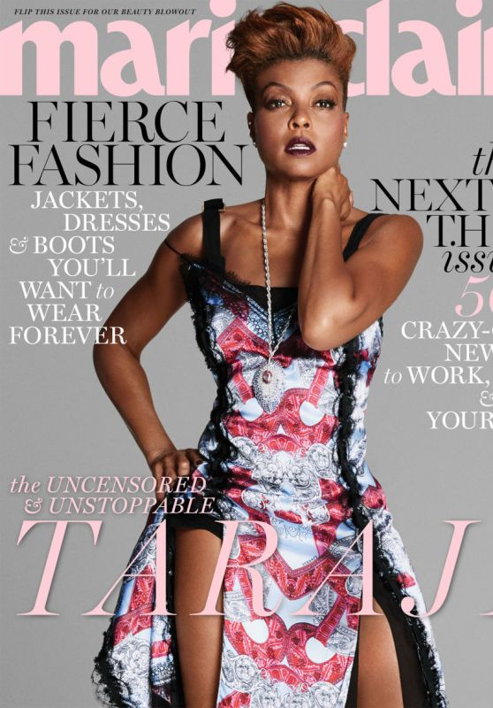 Taraji P. Henson - Marie Claire Magazine US October 2017 Cover and Photos
