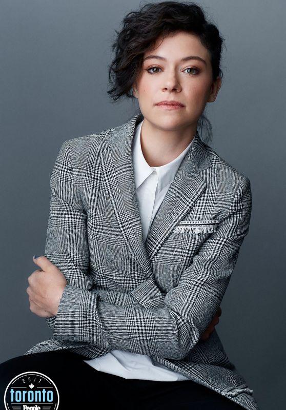 Tatiana Maslany – People/EW Portrait Studio – September 2017