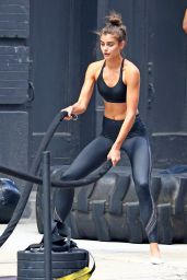 Taylor Hill at the Gym in NYC 09/11/2017