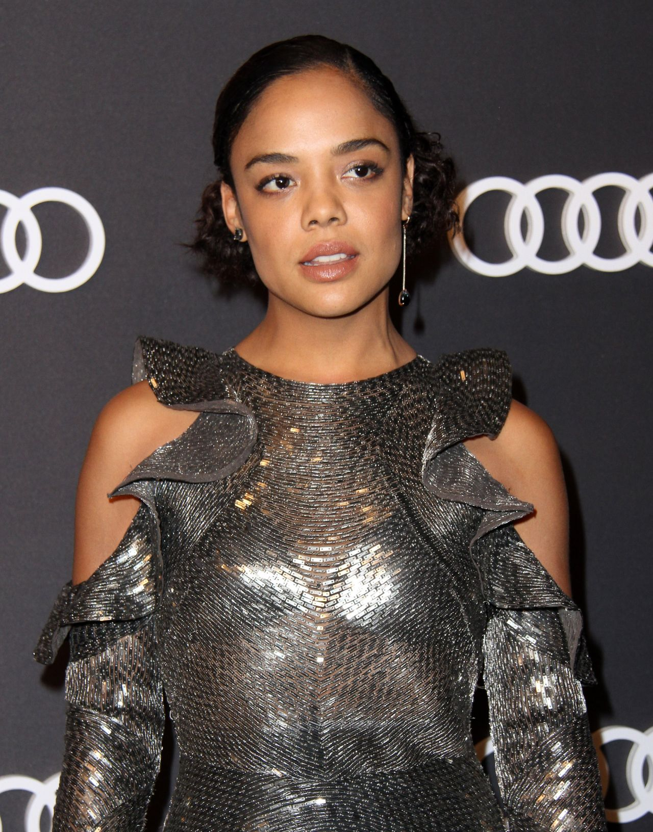 Tessa Thompson – Audi Emmy Party in Los Angeles 09/14/2017