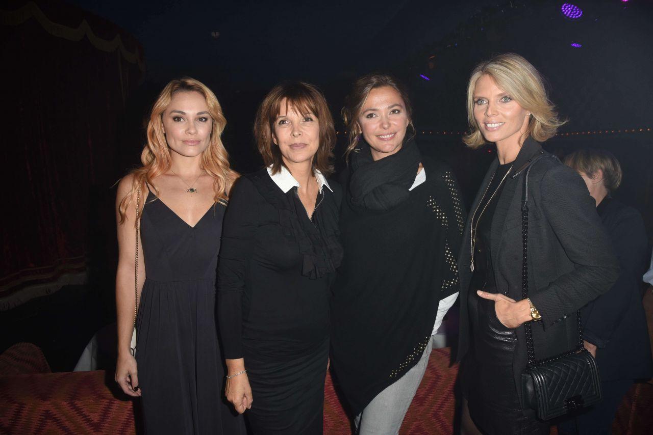 Tina Kieffer – Chantal Thomass Damart Thermolactyl Show in Paris 09/14/2017