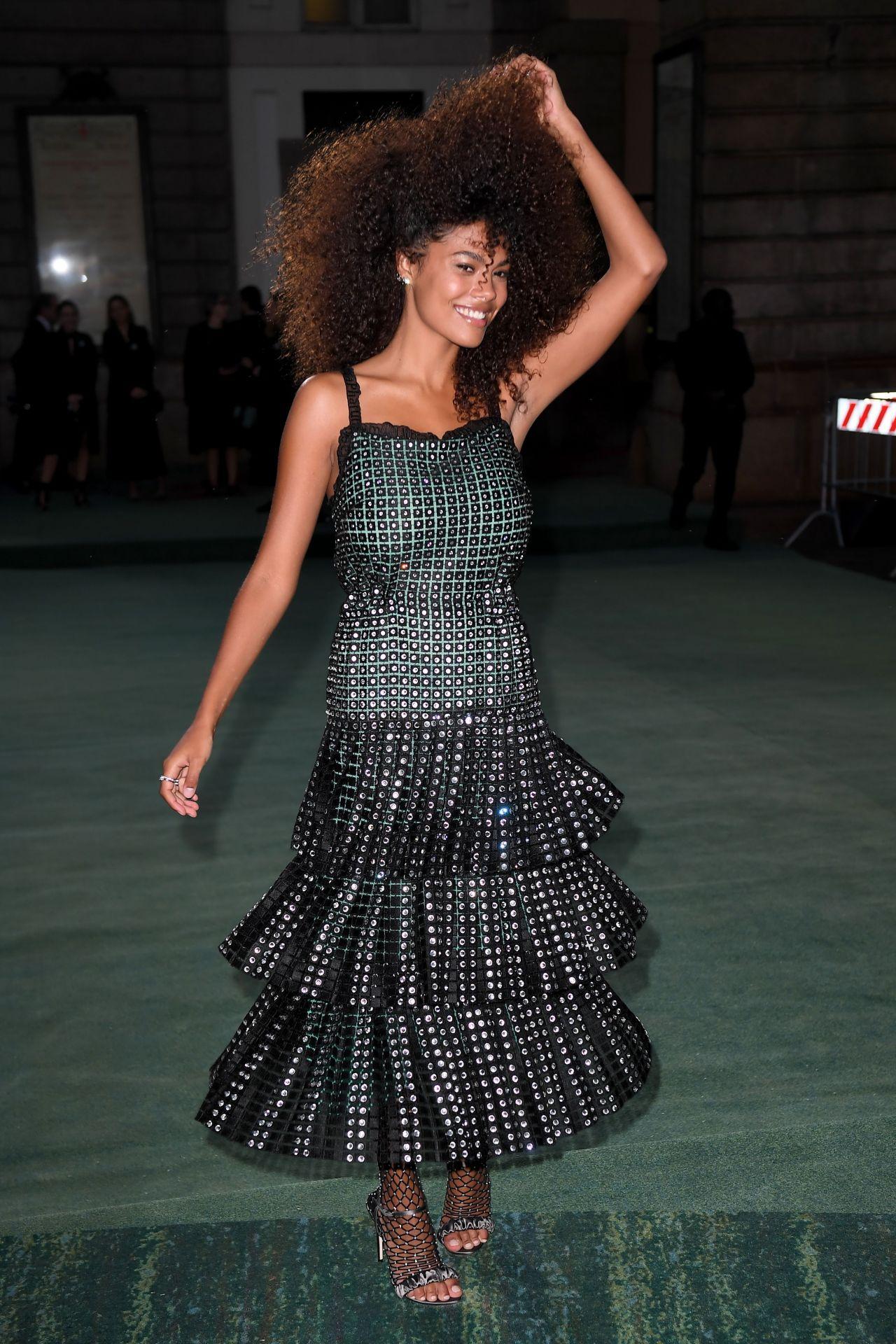 Tina Kunakey Di Vita Green Carpet Fashion Awards Italia