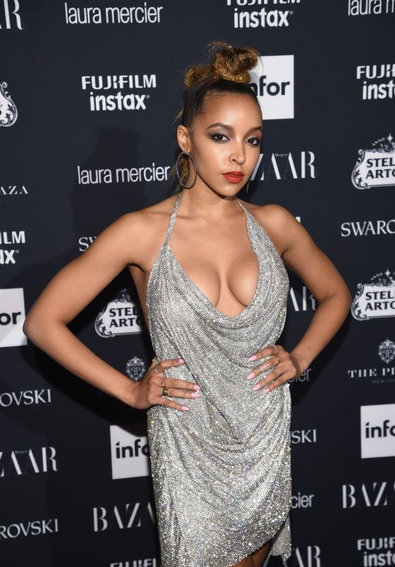Tinashe – Harper's Bazaar ICONS Party at NYFW 09/08/2017