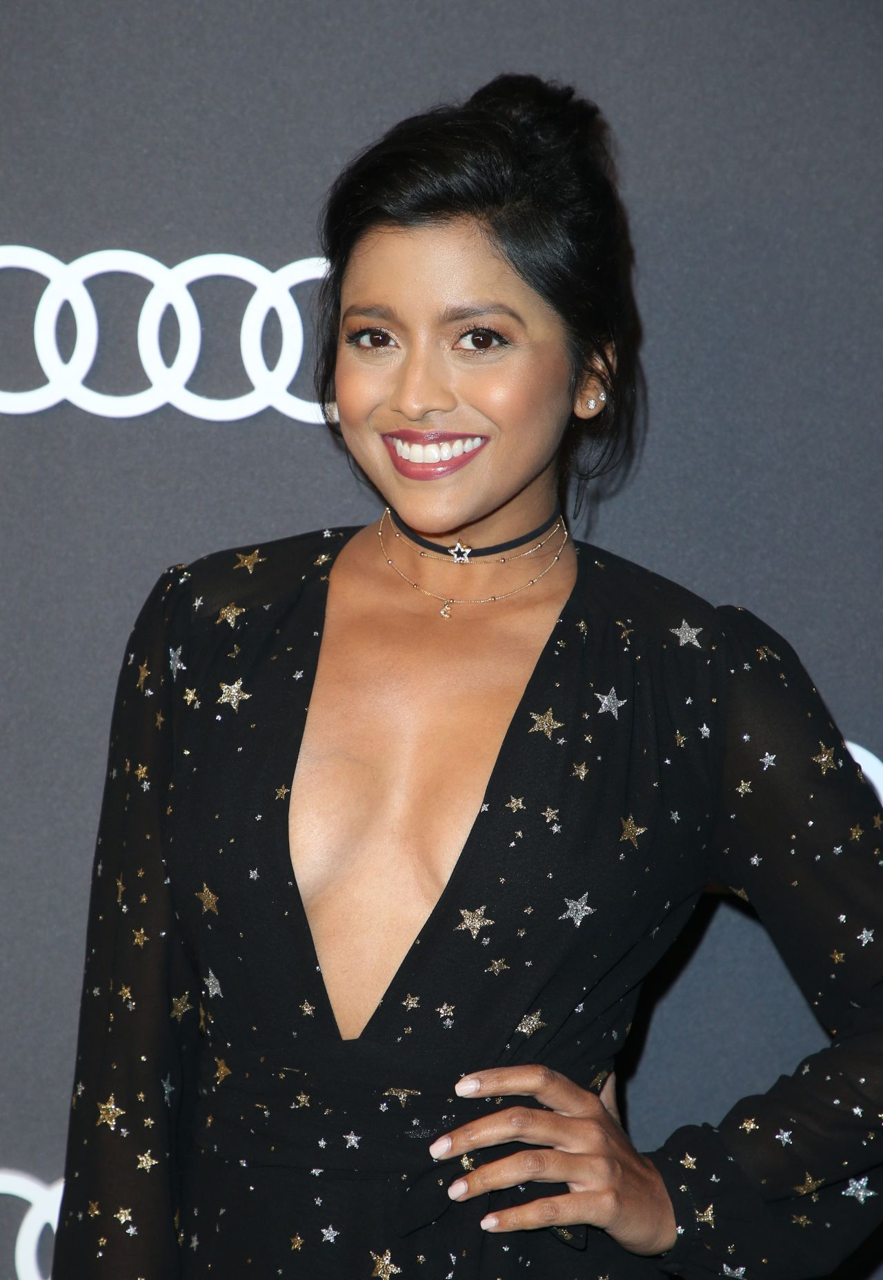 Tiya Sircar – Audi Emmy Party in Los Angeles 09/14/2017