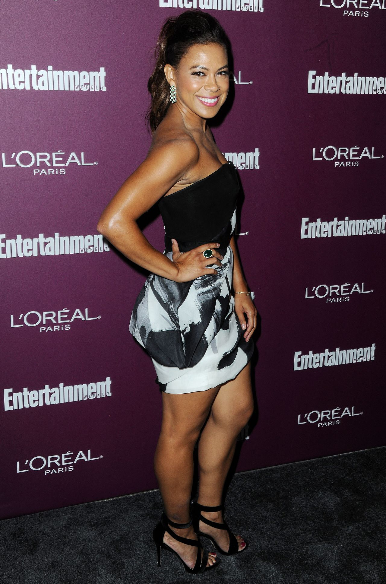Toni Trucks – EW Pre-Emmy Party in West Hollywood 09/15/2017