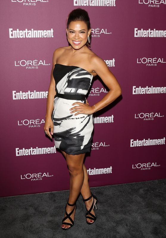 Toni Trucks – EW Pre-Emmy Party in West Hollywood 09/15/2017