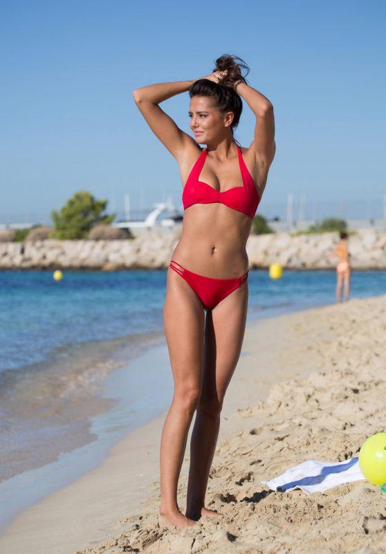 Tyla Carr in Bikini at the Beach in Mallorca 08/31/2017