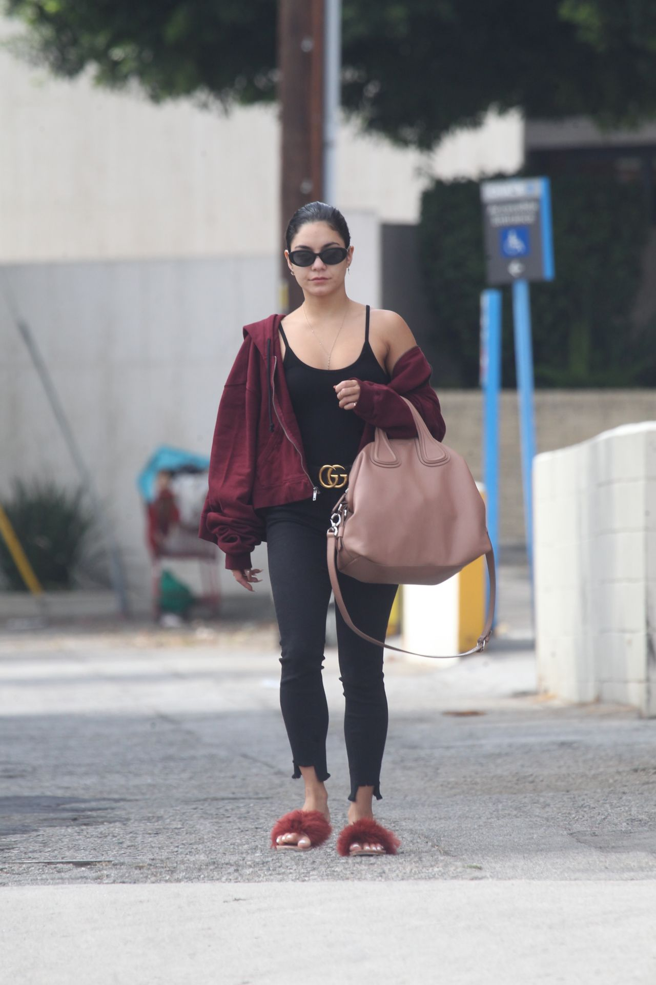 Vanessa Hudgens Casual Style - Labor Day in LA 09/04/2017