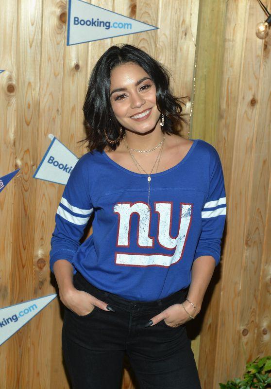 Vanessa Hudgens - Gameday Kickoff at the Booking.com Football House, Jersey City, NJ, 09/10/2017