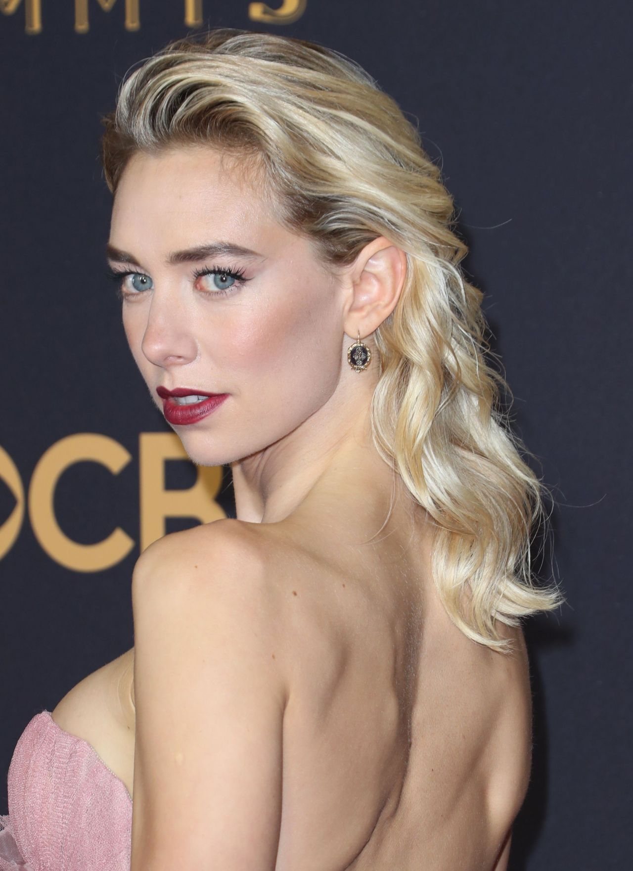 Vanessa Kirby Emmy Awards In Los Angeles 09 17 2017