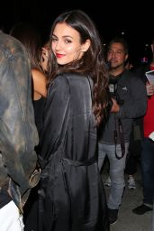 Victoria Justice & Madison Reed - Outside Christina Milian's Birthday Party in LA 09/27/2017