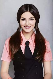 Victoria Justice - Schoolgirl Photoshoot (2012)