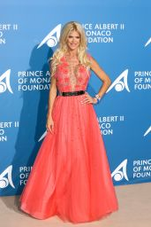 Victoria Silvstedt – Monte Carlo Gala for the Global Ocean, Monaco 09/28/2017