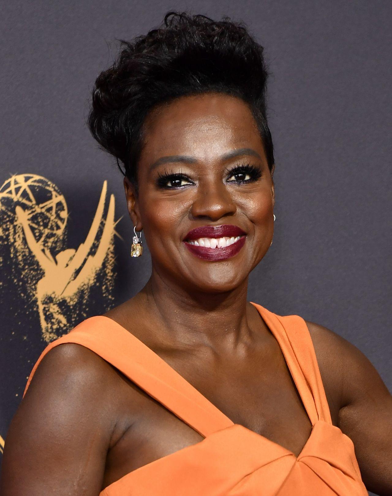 Viola Davis Emmy Awards In Los Angeles 09 17 2017