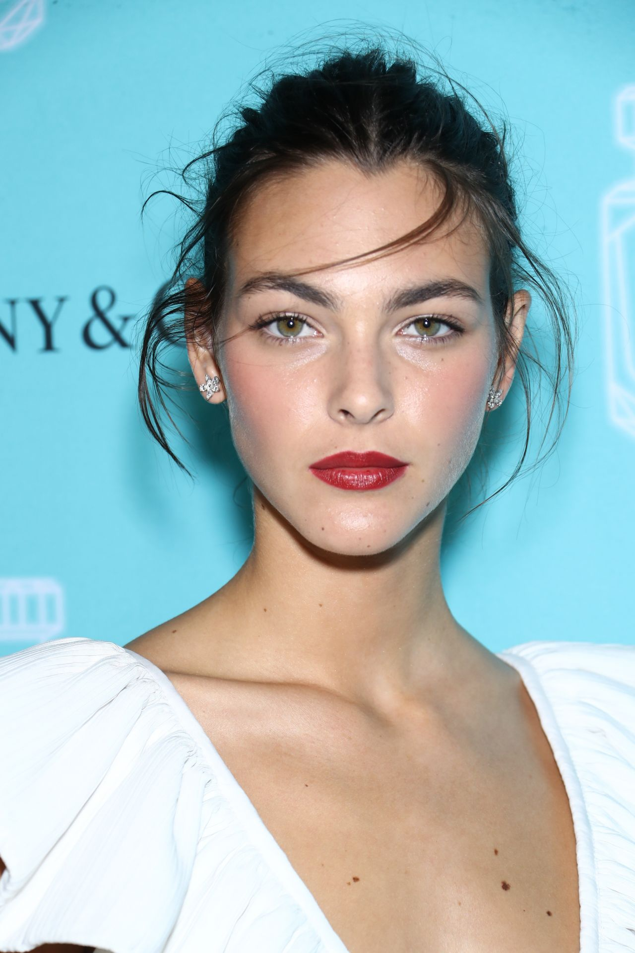 Vittoria Ceretti - Tiffany & Co Fragrance Launch in NYC 09