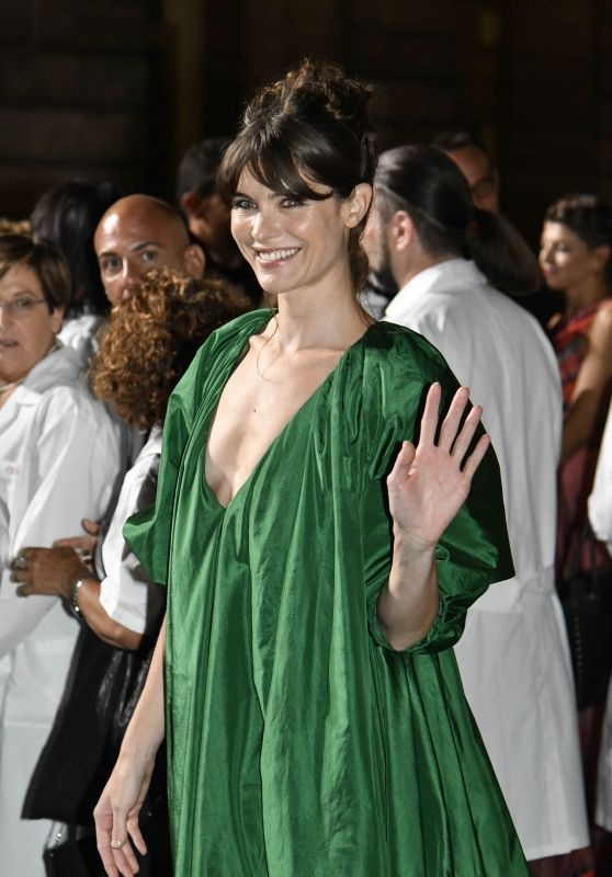 Vittoria Puccini – Green Carpet Fashion Awards, Italia 2017