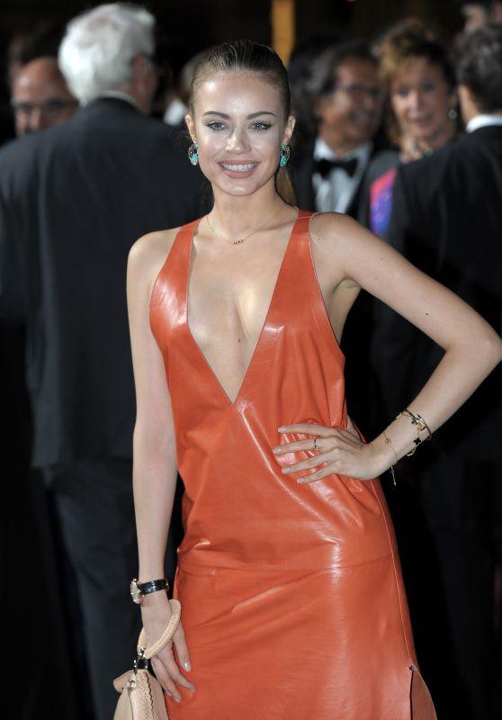 Xenia Tchoumitcheva – Green Carpet Fashion Awards, Italia 2017