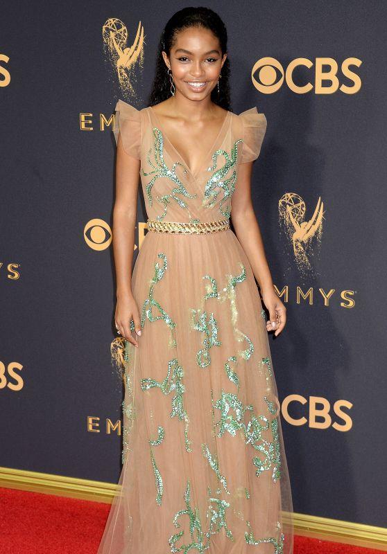 Yara Shahidi – Emmy Awards in Los Angeles 09/17/2017