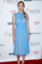 Yvonne Strahovski – BAFTA Tea Party in Los Angeles 09/16/2017