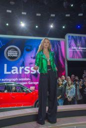 Zara Larsson - VW Booth at International Car Fair in Frankfurt 09/20/2017