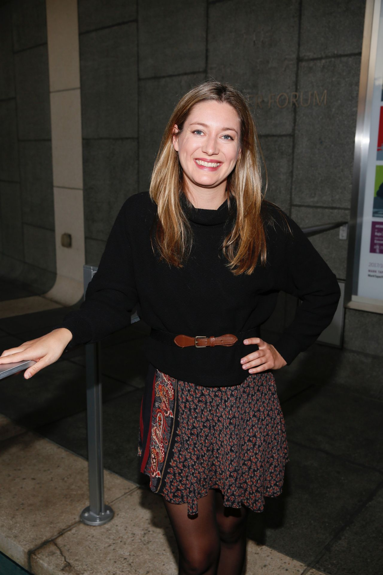 Zoe Perry Quot Head Of Passes Quot Play Opening Night In Los Angeles 09 24 2017
