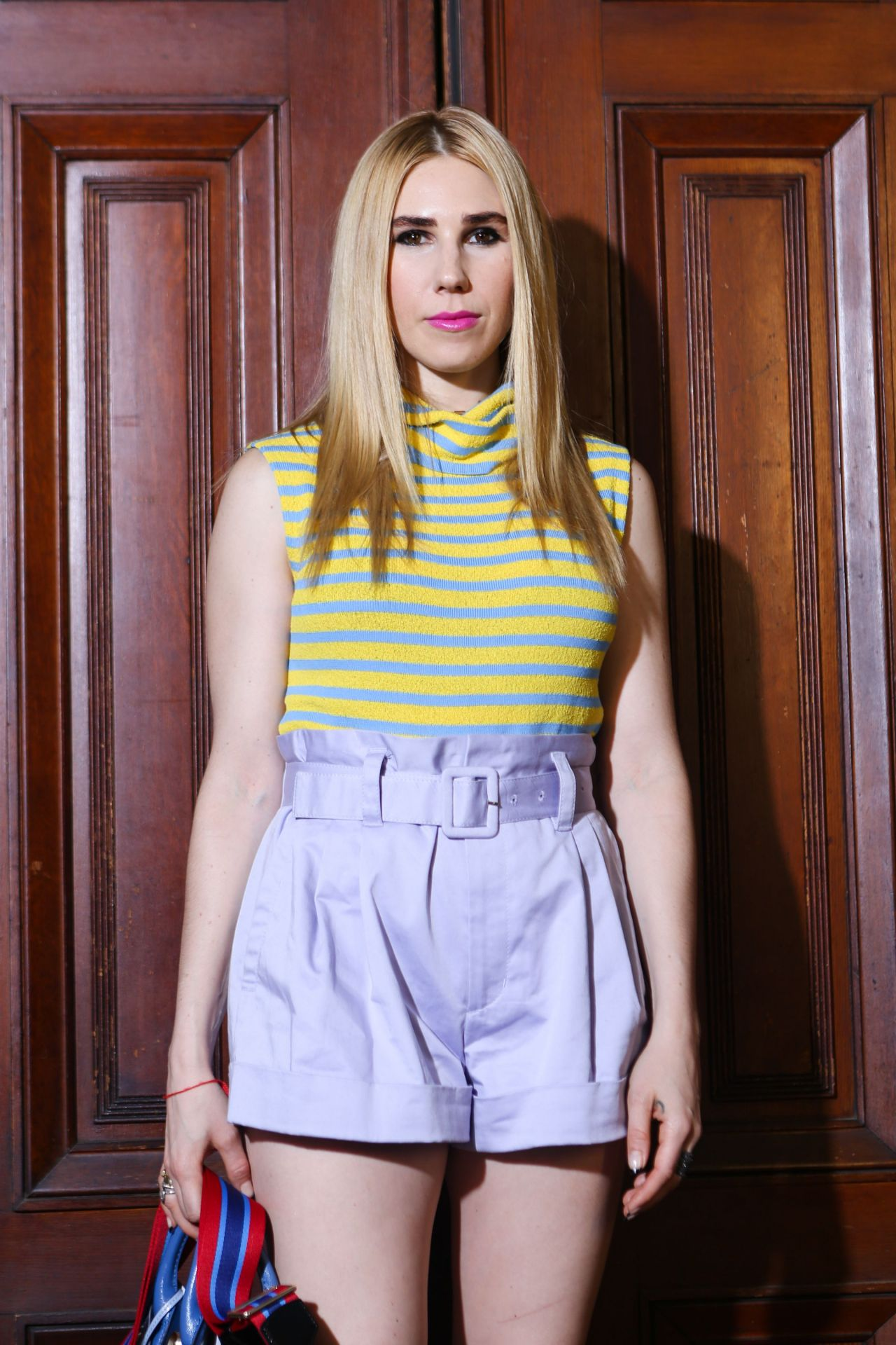 Zosia Mamet – Marc Jacobs Fashion Show in New York 09/13/2017