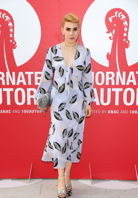 "Zosia Mamet – ""Miu Miu Women's Tales"" Photocall at the Venice Film Festival 08/31/2017"